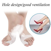 Load image into Gallery viewer, 1 Pair Big Toe Corrector Care Unisex Hallux Valgus Straightener Foot Care Bunion Pain