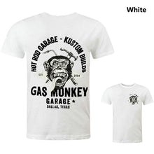 Load image into Gallery viewer, 5 Colors Details About Official Gas Monkey Garage Mens Essentials Torch & Hammer T-Shirt GMG
