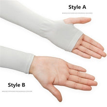 Load image into Gallery viewer, 2/4Pcs Sun Protection Arm Cooling Sleeve Warmers Cuffs UV Protection Sleeves Vovotradehot 2020