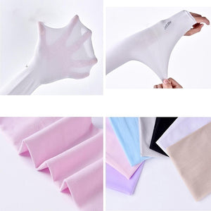 2/4Pcs Sun Protection Arm Cooling Sleeve Warmers Cuffs UV Protection Sleeves Vovotradehot 2020