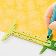 Load image into Gallery viewer, 15cm 5 In 1 Plastic Sewing Gauge Ruler Cloth Measuring Scale Tool