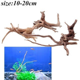 Wood Natural Trunk Driftwood Tree Aquarium Fish Tank Plant Decoration Ornament
