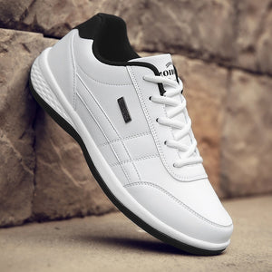 Men's Leather Casual Sneakers Sports Running Shoes Sapatos Femininos Zapatos De Hombre Trainers for Men