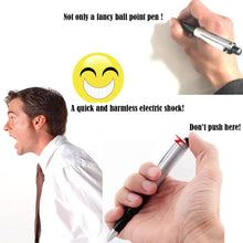 Load image into Gallery viewer, Shocking Electric Shock Novelty Metal Pen Prank Trick Joke Gag Funny Gift