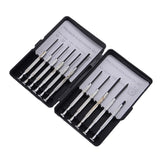11Pcs/set Precision Repair Tool Screwdriver Set Watchmaker Watch Glasses Jewelry Repair Tool Awl Scriber Magnet Lifter+Box