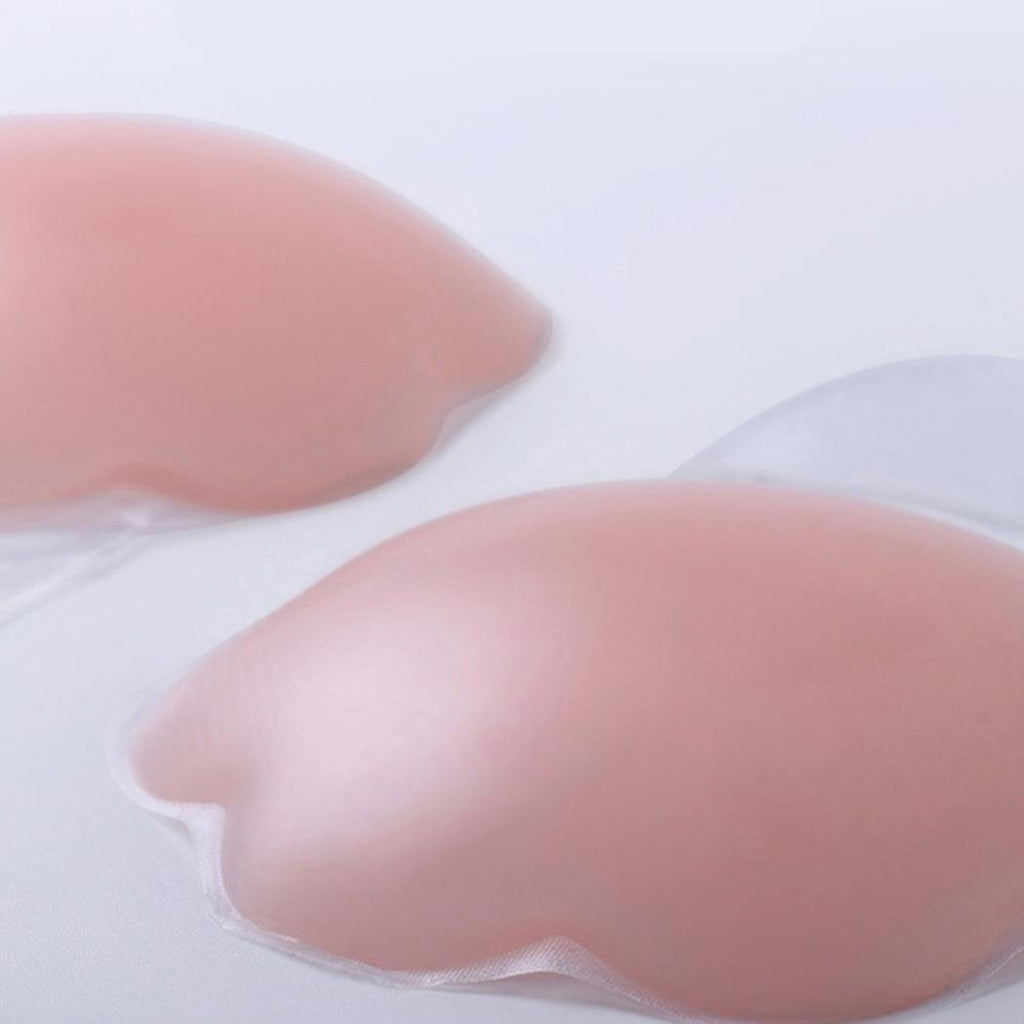 Silicone Reusable Self Adhesive Invisible Bra Lift up Breast Nipple Covers