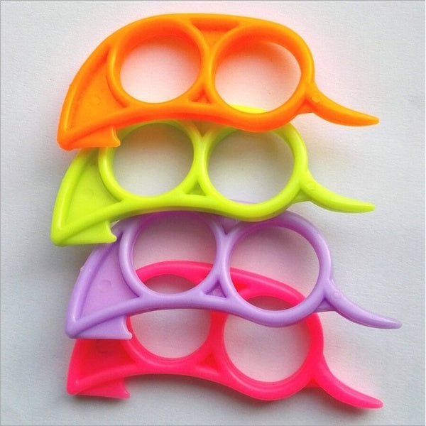 5 PCs Orange Opener Peeler Slicer Cutter Plastic Lemon Citrus Fruit Skin Remover(Color Random)