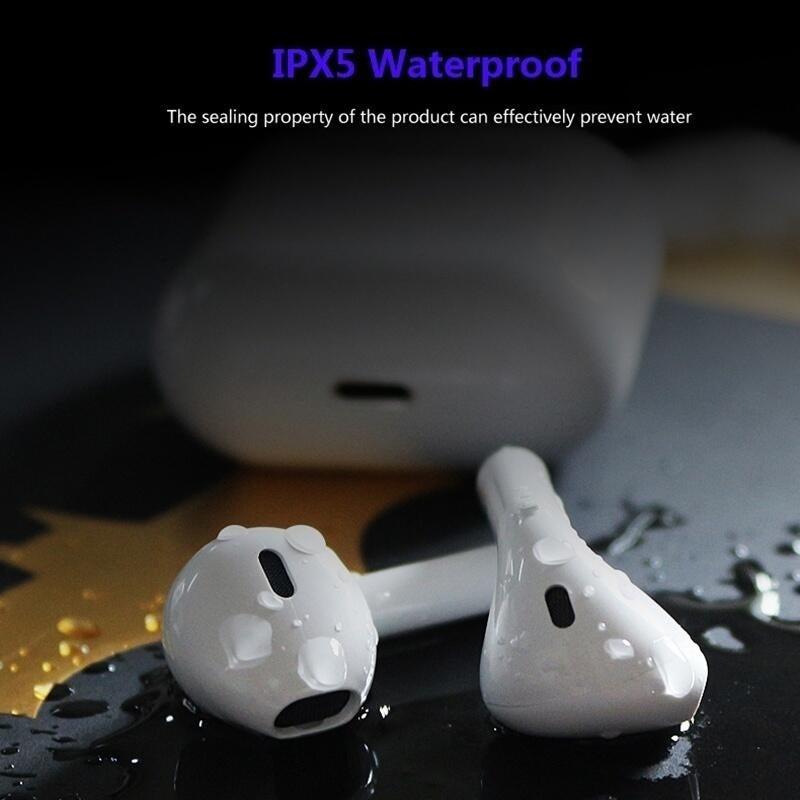 Hot Original I12 Wireless Bluetooth 5.0 Earphone Sports Sweatproof Headphone Touch Portable Earbuds