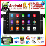 2020 New Upgrade 9 Inch Android 8.1 1+16GB Wifi Car MP5 Player Touch Screen Car Stereo Radio Support GPS Navigator, Bluetooth, Mirror Link For BMW E46