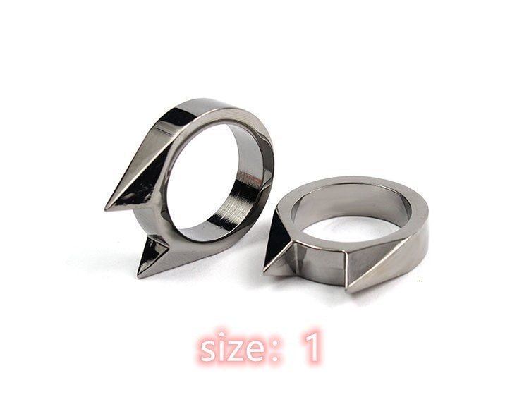 Survival Tool Finger Ring To Protect Yourself Metal Knuckles