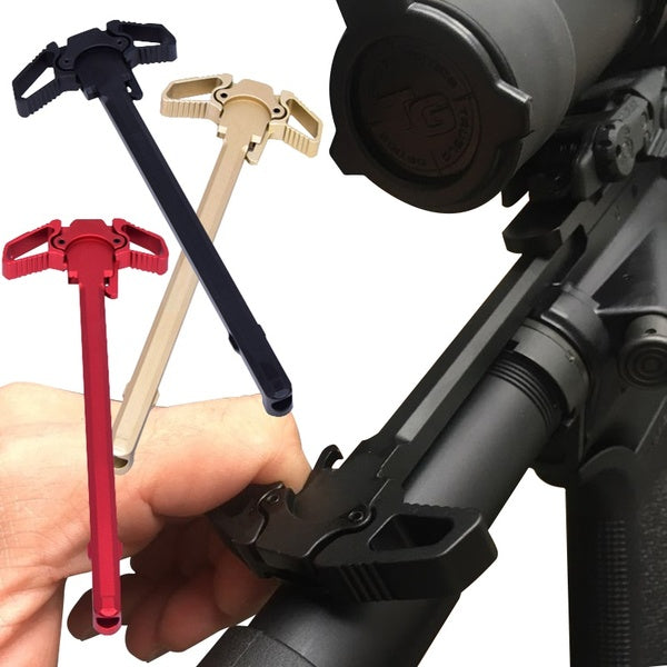 2019 New Butterfly Pulping Machine Premium Handle Ambidextrous Handle AR Metal Tool Parts Great accessory for AR-15 M4 Handle