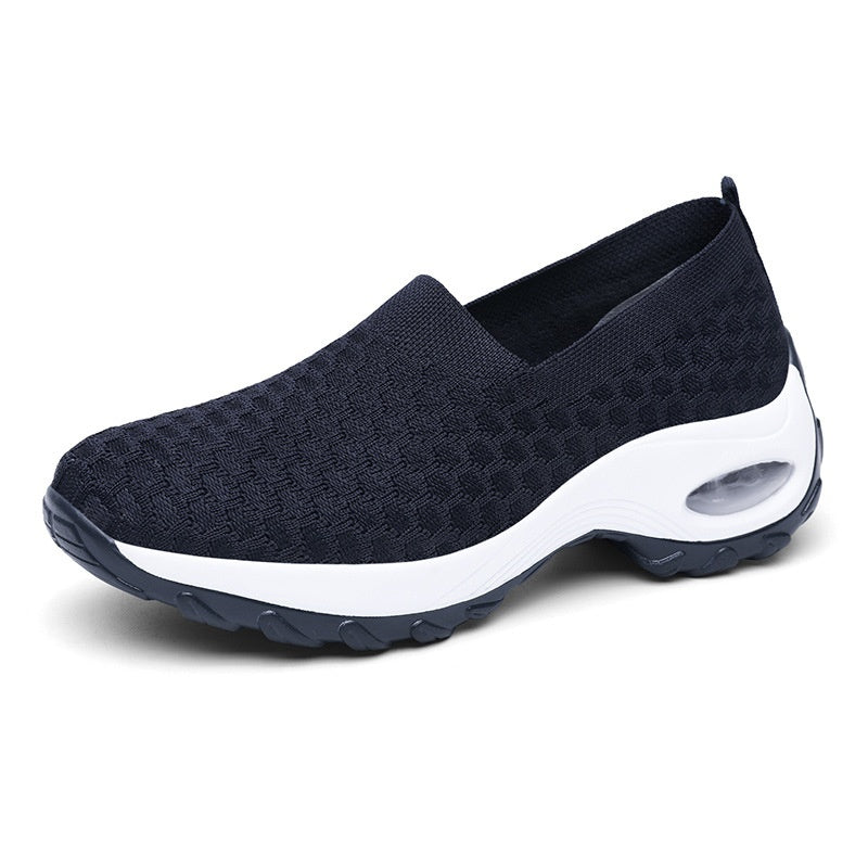Women Fashion Casual Shoes Platform Shoes Soft Air Cushion Running Shoes Driving Shoes