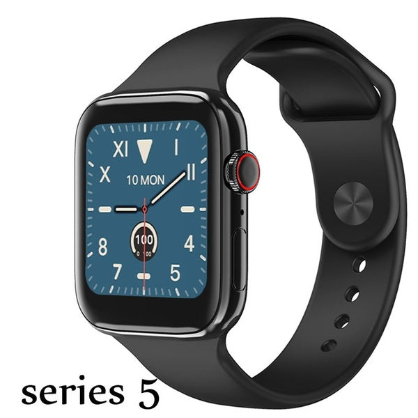 New Arrival Watch Series 5 Bluetooth Call Watches 1.54'' Alloy Metal Shell Smart Watch Full Touch Smart Watches ECG Tracker Smart Watch for Ios Android PK Watch Series 5 4