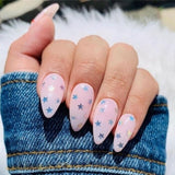 6 Pcs/lot Nail Butterfly Heart Star Round Shape Holographic Nail Art Glitter Sequins