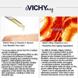 2020 Hot Products LIFTACTIV VITAMIN C SERUM with a High Concentration of 15% Pure Vitamin C Serum + Natural Origin Hyaluronic Acid for Brighter complexion, Smoothing skin texture and Reducing fine lines