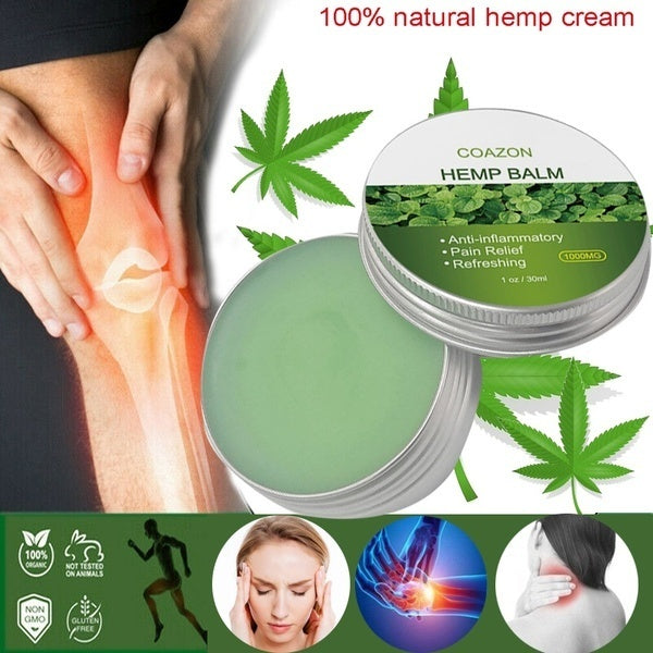 100% natural Chinese herbal ointment, joint, back, cervical spine, lumbar analgesic ointment, anti-inflammatory / analgesic / refreshing.