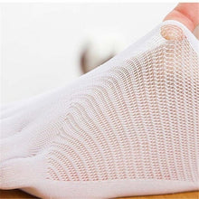 Load image into Gallery viewer, 6pcs /4pcs /2pcs Women Summer Five-finger Socks Female Ultrathin Sock Funny Toe Invisible Sokken with Silicone Anti-skid Breathable Anti-friction