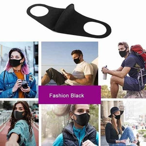 1/3/6Pcs Fashion Dustproof Mask,Military Grade Anti Air Dust and Smoke Pollution Mask with Adjustable Straps and A Washable Respirator Mask Made for Men Women and Kids