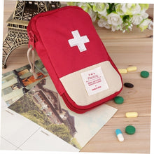 Load image into Gallery viewer, New Outdoor Camping Home Survival Portable First Aid Kit bag Case Xi