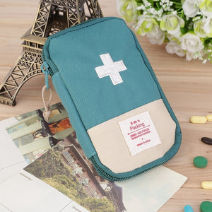 New Outdoor Camping Home Survival Portable First Aid Kit bag Case Xi