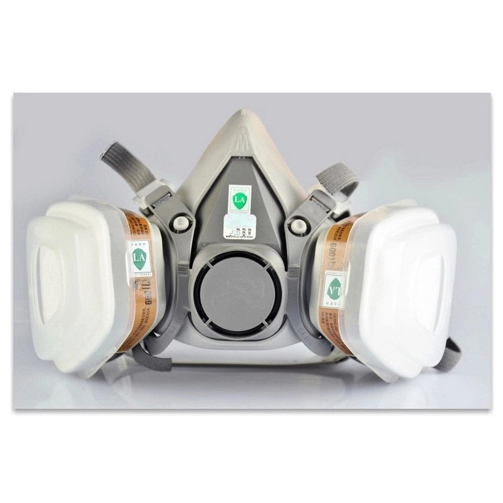 Organic Vapor Full Face Respirator Mask Gas Mask Paint Pesticide Chemical Formaldehyde  Respiratory Protection