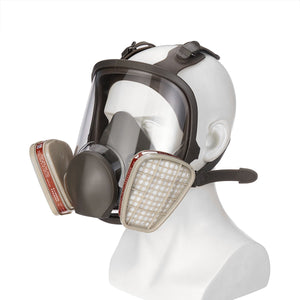 Head-mounted Adjustable 7/3/1 PCS, 6800 Gas Mask  6800 Gas Mask Full Face Facepiece Respirator Painting Spraying