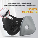 Cycling Replaceable Face Masks Filter Pads Anti-Dust Replacement Cold Protective Mask Filter 10/20Pcs