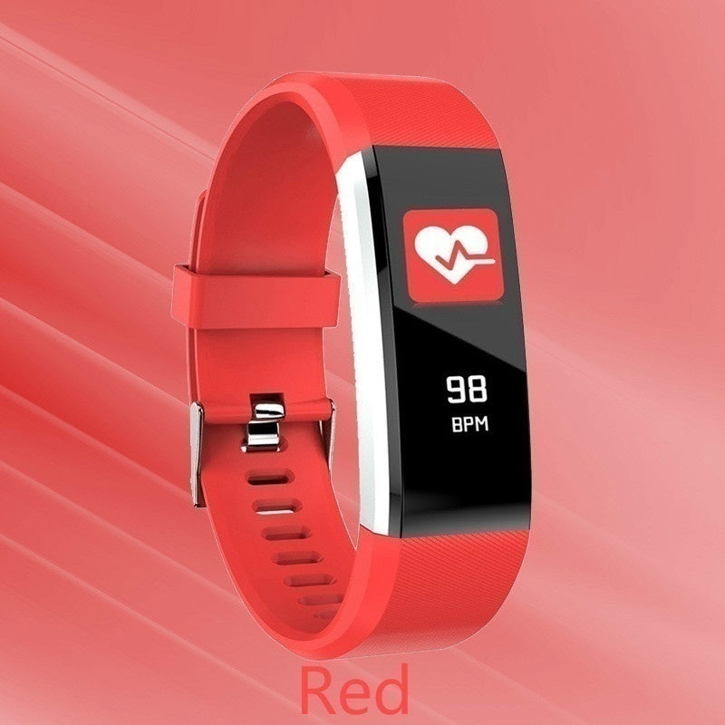 Smart Bracelet For Men Women Fashion Watch Color Screen Fitness Tracker IP67 Waterproof Sport Smart Band Heart Rate Monitor Pedometer Activity Smart Watch for IOS Andriod PK Fit Bit Watch