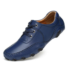 Load image into Gallery viewer, Leather Golf Shoes Casual Shoes Lightweight Men's Shoes Golf Breathable Waterproof Anti-slip Shoes Golf Shoe British Style Shoes