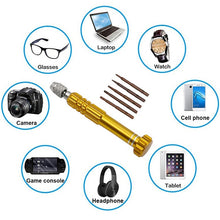 Load image into Gallery viewer, Repair Tools Set 25 in 1/ 8 in 1/5 in 1Precision Torx Screwdriver for iPhone Laptop Cellphone Electronics Hand Tool