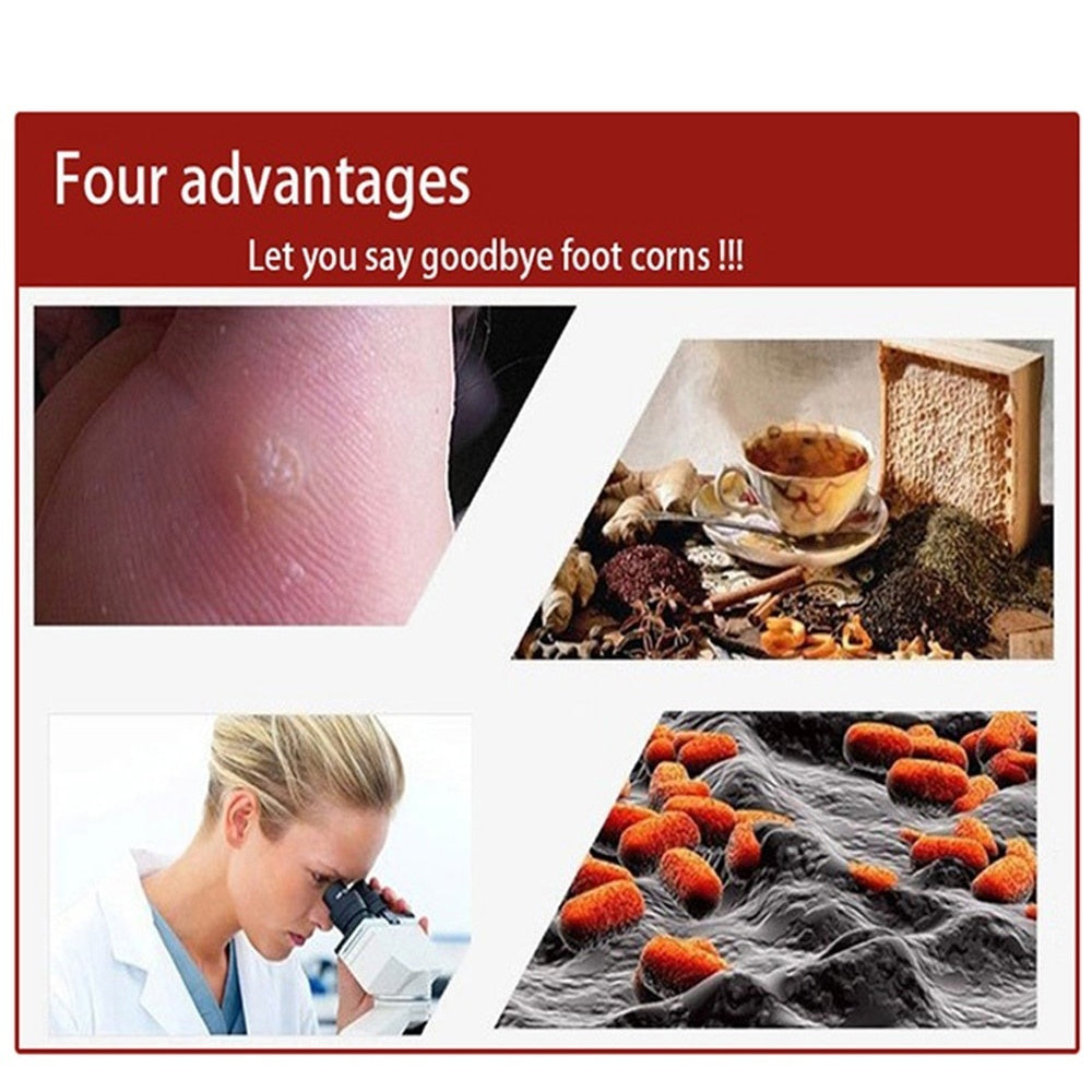 12pcs Wart Removal Patch Painlessly Remove Feet Callus Cutins Corn Remover Pads Foot Care