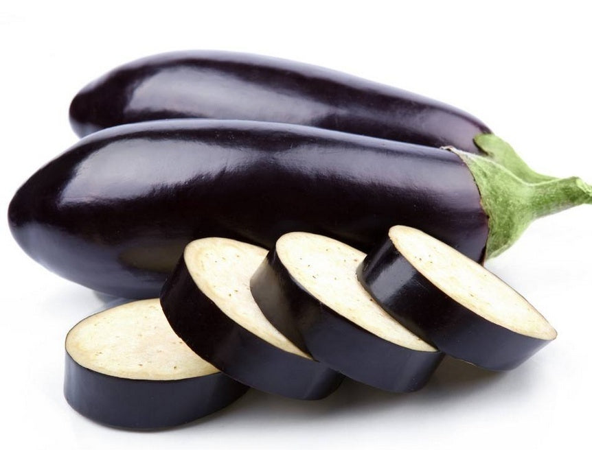 100pcs Eggplant Seeds Purple Aubergine Organic Vegetables Seeds Home Garden Planting Easy Growth