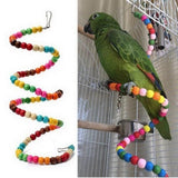 7 Types Parrot Toy Bird Supplies Parrot Chew Toy Bird Toys Swing Bell