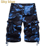 2020 Summer Men's Overalls Camouflage Middle Pants Men's Cargo Shorts 6 Color 6 Size