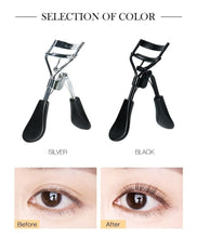 Load image into Gallery viewer, 2 Color Stainless Steel Eyelash Curler Mini Portable Eyelash Curler Curling Tool Beauty Eyelash Tool Lasting Styling