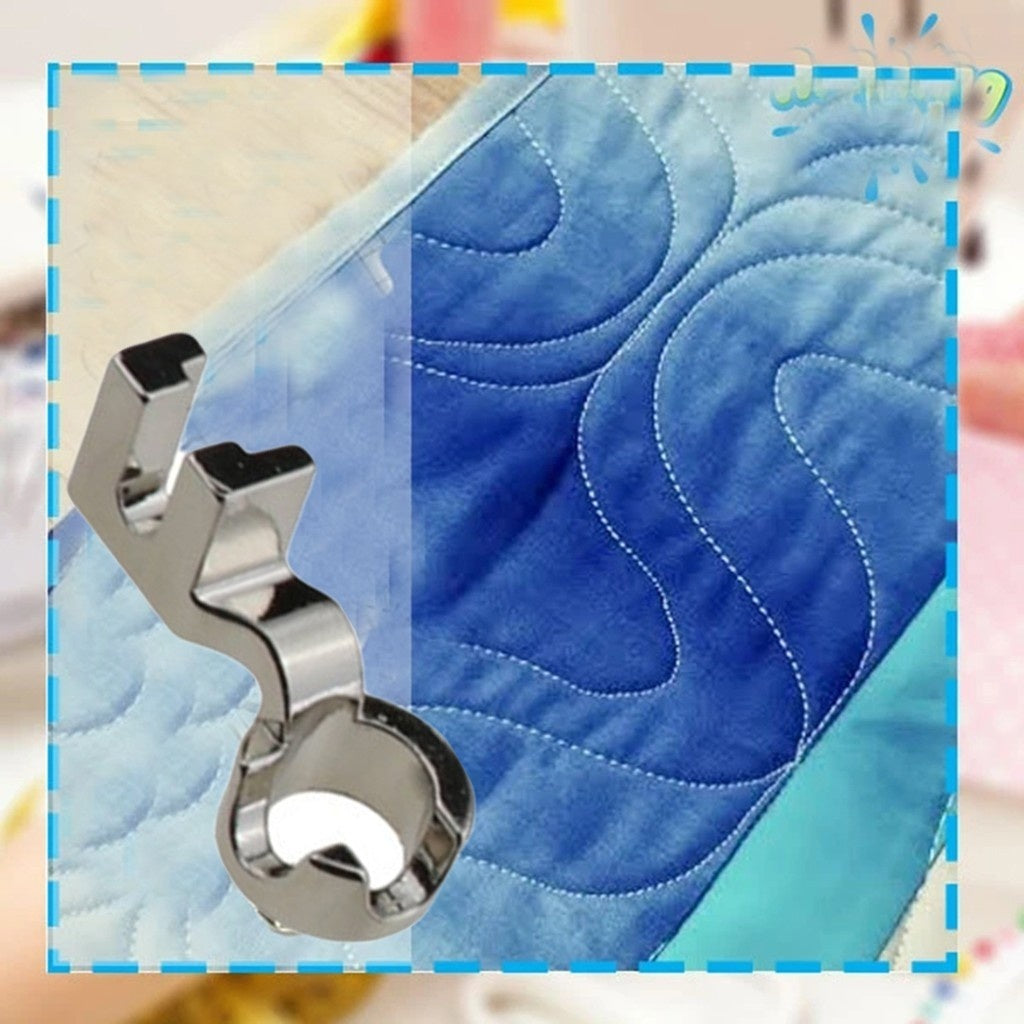 DIY Patchwork Foot Quilting Embroidery High Shank For Sewing Machine Tool