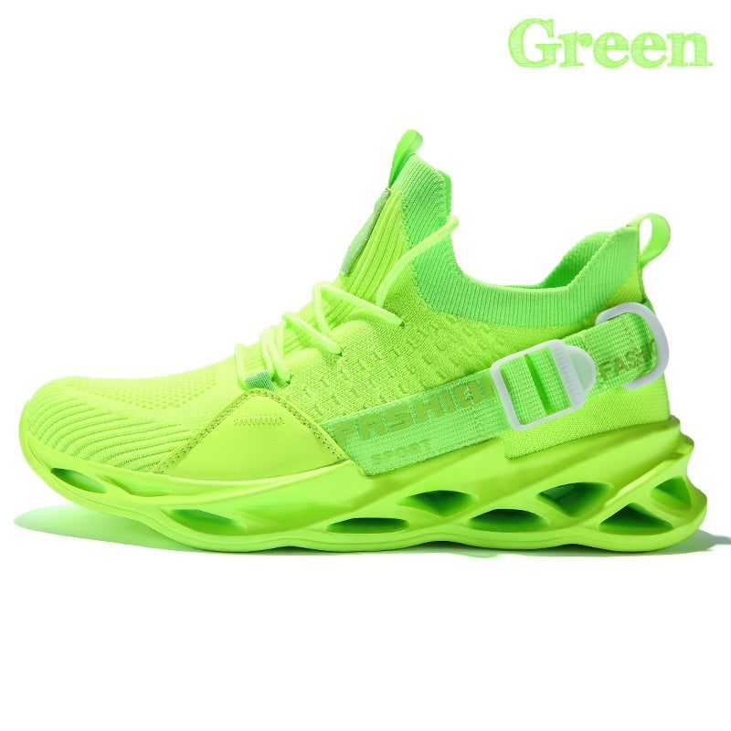 Fashion Men's Street Walking Sneakers Youth All-Purpose Style Sneakers Outdoor Breathable Sports Running Shoes Casual Tennis Shoes Plus Size