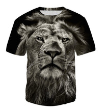 Load image into Gallery viewer, New Fashion Brand T-shirt MenWomen Summer 3d Tshirt Print lion T shirt Tops Tees