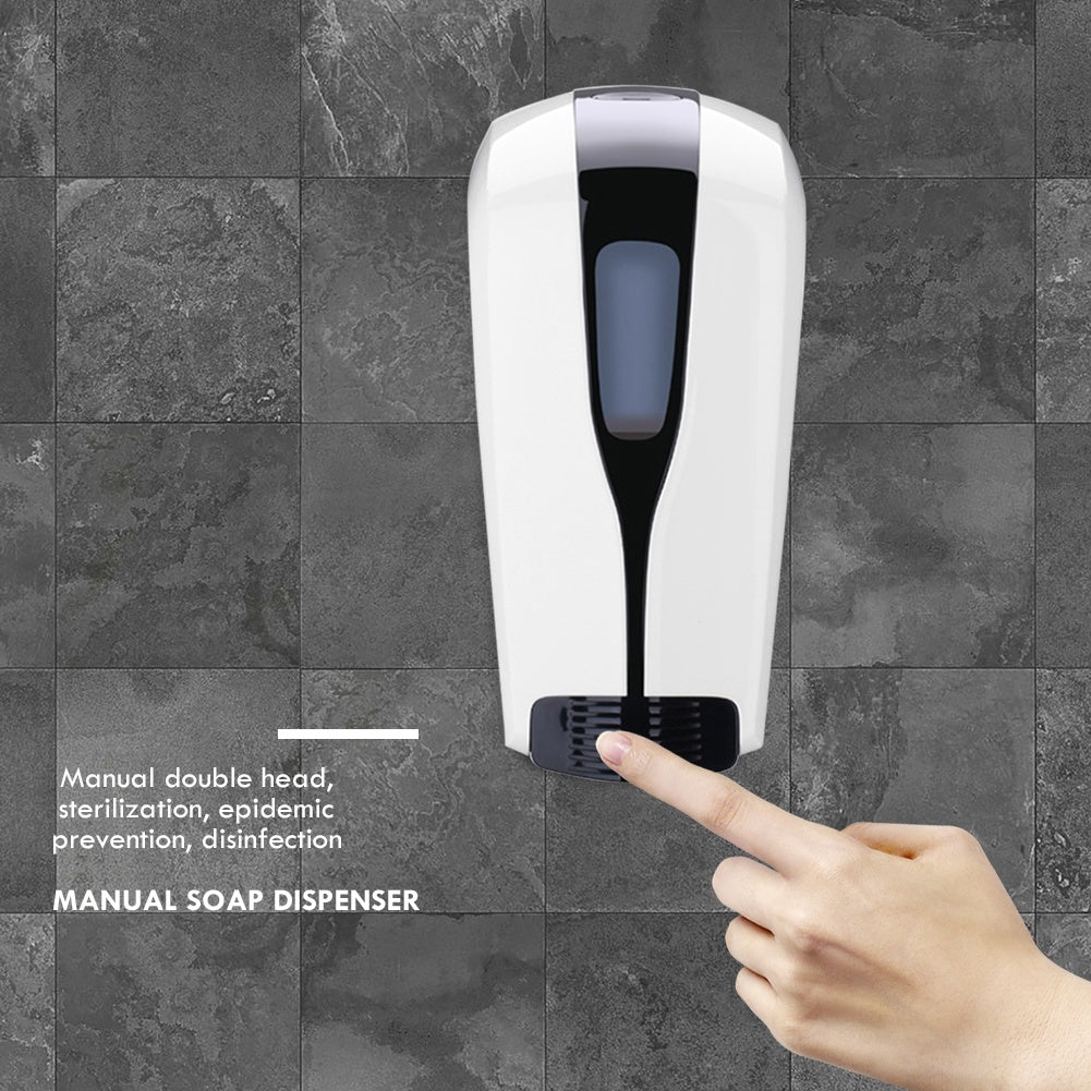 500ML/1000ml Large Capacity Automatic Soap Dispenser Induction Foam Machine Bathroom Wall-mounted Hand Washer Foam Soap Dispenser