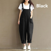 Load image into Gallery viewer, Women's Fashion Casual Pants Jumpsuits Rompers Long Pants Playsuit Overalls Bib Pants Trousers Plus Size S-5XL