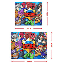 Load image into Gallery viewer, 3d Brawl Stars Painting Hanging Tapestry Children's Rooms Wall Decor(150*100CM / 150*130CM / 200*150cm)