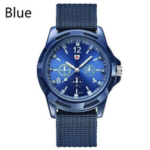 Load image into Gallery viewer, Classic Design Swiss Army Men Fashion Casual Nylon Band Quartz Watch Sports Watch