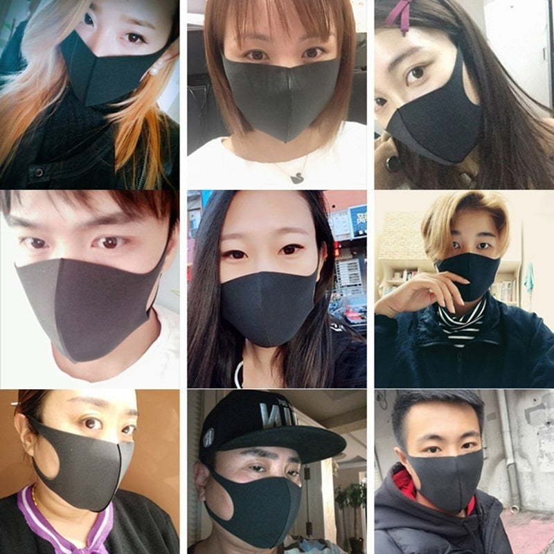 10pcs/5pcs/1pcs Face Masks 3D Fashion Personality Simple Warming Mask Protective Face Mask Soft Mask Antibacterial and Dustproof Mask Anti-allergic PM2.5 Mouth Mask Coronavirus Mask Face mascherine