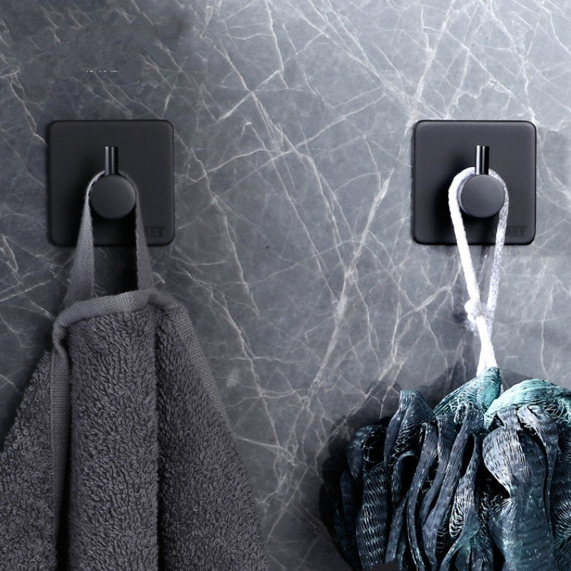 Adhesive Hooks for Bathroom 3M Sticker Wall Sticker Wall Door Clothes Coat Hat Hanger  for Kitchen Bathroom Waterproof Strong Rustproof Towel Hooks