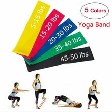 Load image into Gallery viewer, Yoga Fitness Band Yoga circle fitness multi-function resistance band Female slimming and hip lifting options