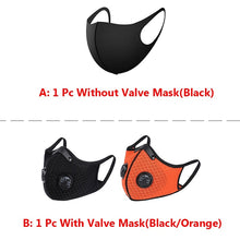 Load image into Gallery viewer, 2020 New Sport Fashion Mask Dust Breathing Mask Activated Carbon Dust-proof Mask for Woodworking Mowing Running Cycling Outdoor Activities