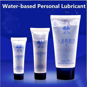 Water-soluble Based human Lubricant Massage Lubricating Oil Lube '13g 20g 45g 60g 120g for choose'