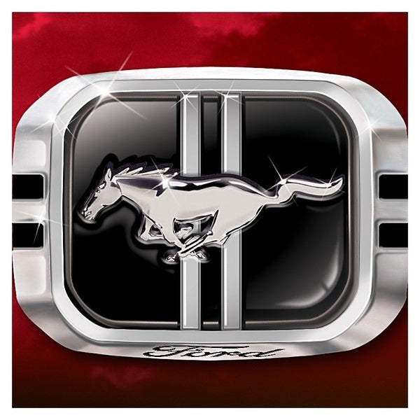 Wild Horse Ford Mustang Exquisite 925 Sterling Silver Mens Fashion Jewelry Punk Band Bikers Ring