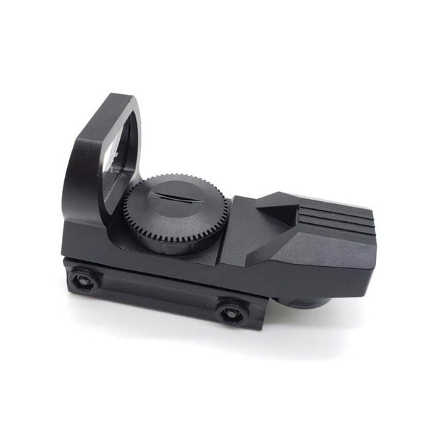 Hunting Tactical Holographic Reflex Green Dot Sight Scope 20mm Water Gun Accessories Adjustable Magnification Mirror Projected Reflex 4 Reticle Sight Scope w/Mount