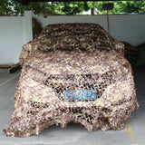 210D Oxford Cloth Camouflage Net Army Military Camo Net Car Covering Tent Hunting Blinds Netting  Camouflage Net Car Blind Spot Mirror Anti Aerial Camouflage Net Anti-aerial Photography Outdoor Sunscreen Jungle Camouflage Net Hunting Accessories